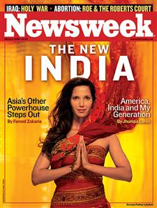 The New India (Newsweek)